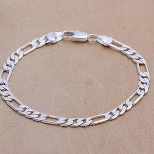 New 925 Sterling silver Men/Women bracelet